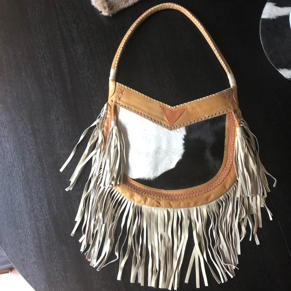 Lokoa Handbags - Lokoa fringe leather bag